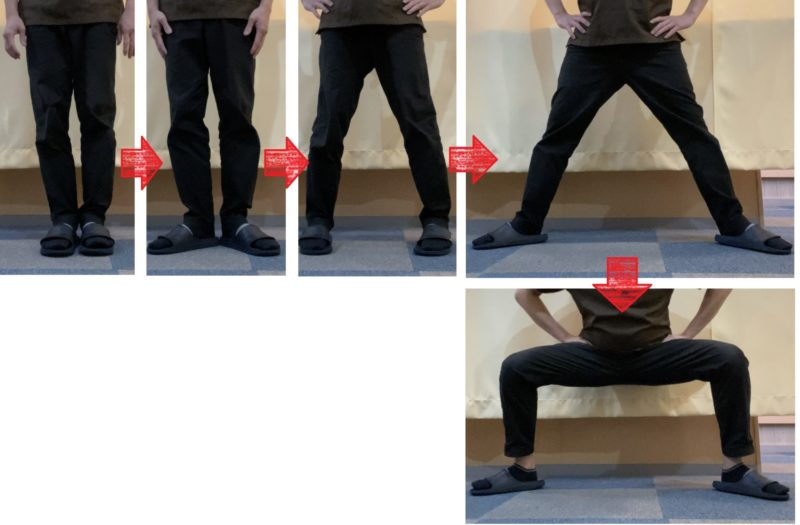 股関節痛 予防 ストレッチ 四股