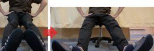 股関節のワイパー運動 股関節痛 予防ストレッチ